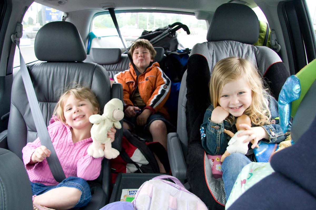Children in the car